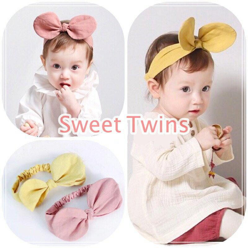 Sweet twins🌸可愛立體米奇耳朵寶寶髮帶