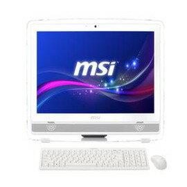微星 AE223-012TW- W10374G50S81MBANXH 白 AIO 電腦celeron 1037U / 4G / 500G / Win8.1/ no Touch