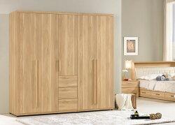 【簡單家具】,G079-1 波里斯6.6尺組合衣櫥(全組),大台北都會區免運費!