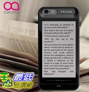 [玉山最低比價網] OAXIS InkCase IPHONE 6 6S 雙螢幕手機殼 電子書墨水螢幕閱讀手機殼 副廠