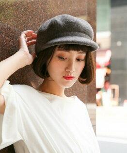麻吉小舖:新款秋冬帽子女羊毛呢南瓜帽貝雷帽八角帽