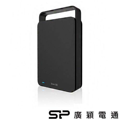 SP廣穎StreamS064TB(黑)3.5吋外接硬碟
