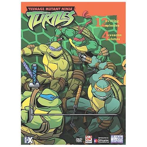 Teenage Mutant Ninja Turtles 4 DVD COLLECTION 12 Episodes 66f4db3d287516d9e4e44692926e4d35