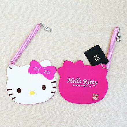 【敵富朗超巿】Kitty臉型伸縮票卡 2