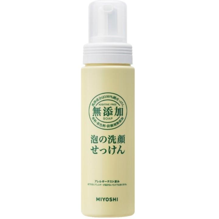 日本樂天官方旗艦店 MIYOSHI 玉之肌 無添加泡沫洗面乳200ml -|日本必買|日本樂天熱銷Top|日本樂天熱銷