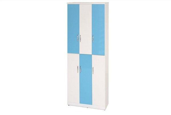 【石川家居】898-06(藍白色)鞋櫃(CT-334)#訂製預購款式#環保塑鋼P無毒防霉易清潔
