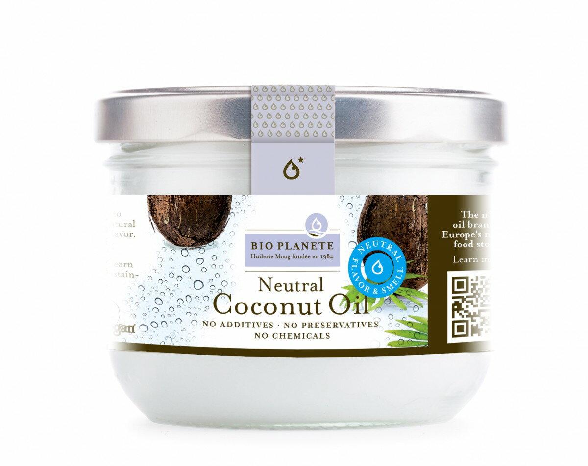 法國 Bio Plante 天然冷壓初榨去味椰子油(400ml)
