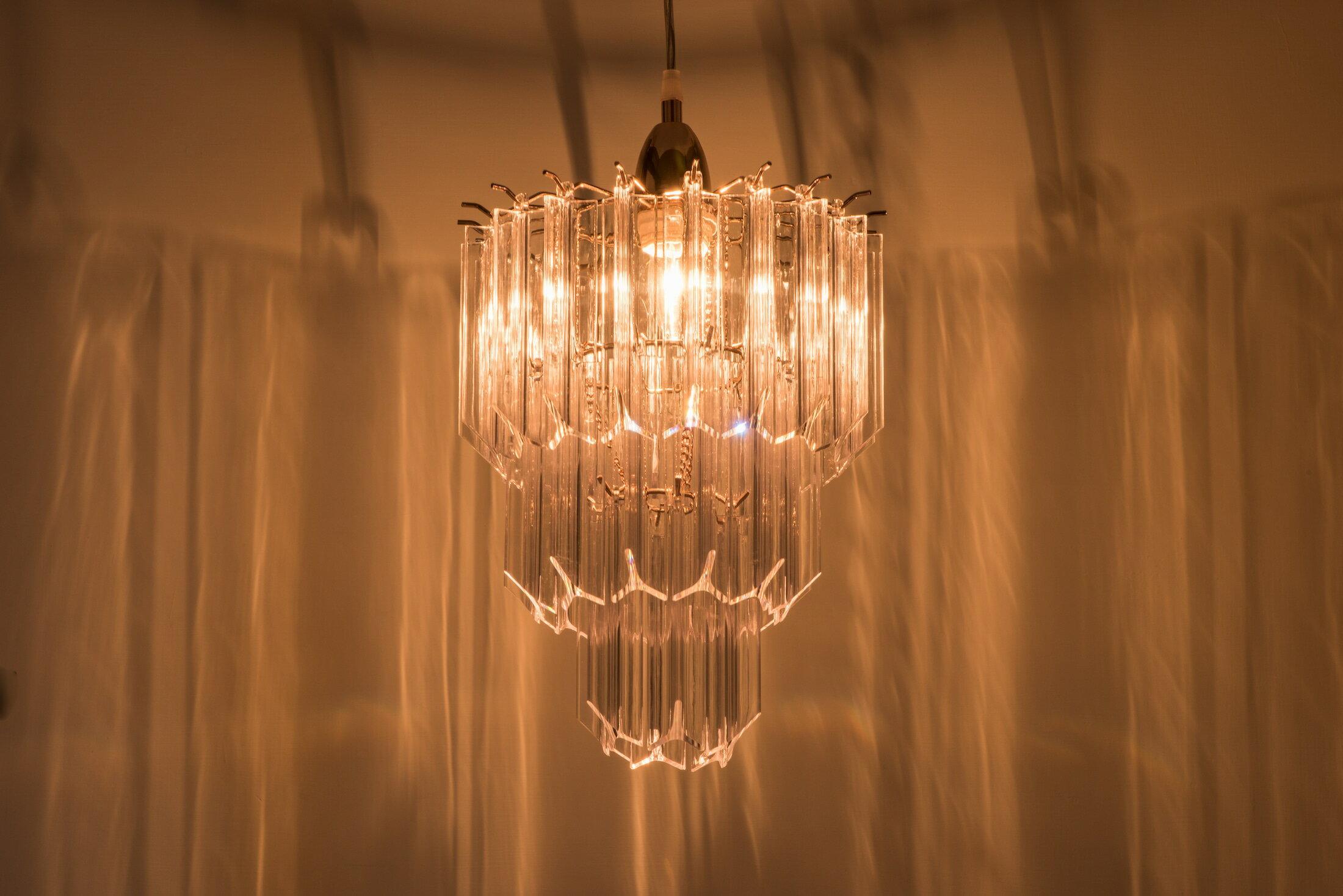 法國金透明壓克立吊燈-BNL00067 3