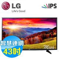 LG電子到LG樂金 43吋 FullHD Smart 液晶電視 43LH5700