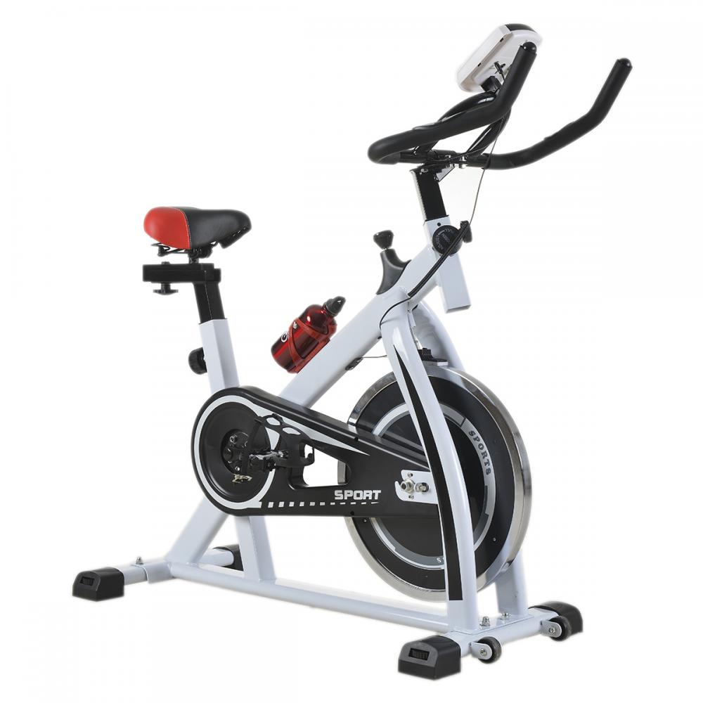 factory direct white cycling trainer fitness exercise. Black Bedroom Furniture Sets. Home Design Ideas