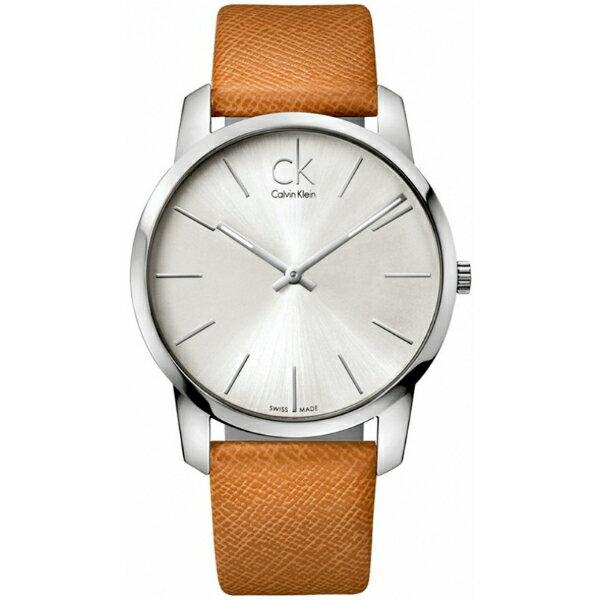 CK CITY(K2G21138+K2G23120)城市經典簡約腕錶/白面43+31mm