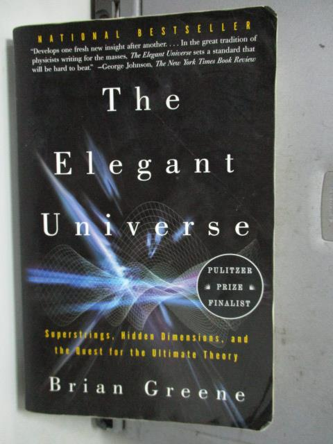 ~書寶 書T3/原文書_LDF~The Elegant Universe_Greene