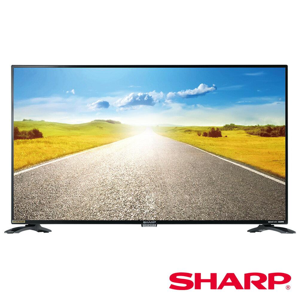 福利品★賠錢出清【SHARP 夏普】40吋智能連網顯示器(含視訊盒) 0