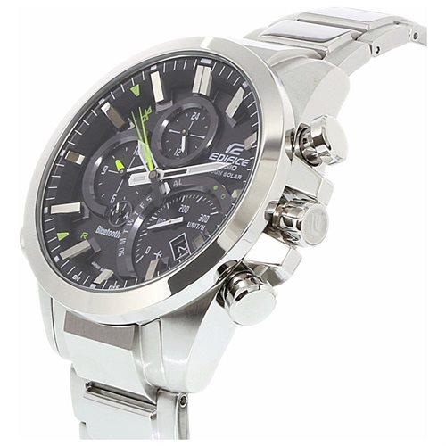 Casio Edifice Mobile Link Bluetooth Tough Solar Watch EQB500D-1A 1