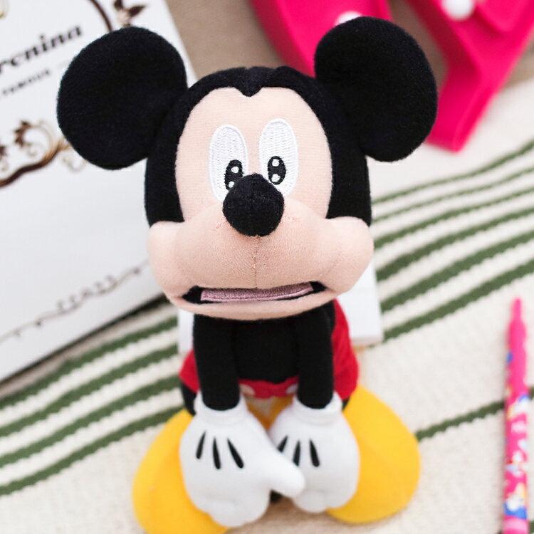PGS7 日本迪士尼系列商品 - 樂園限定 驚嚇米奇 發抖 玩偶【STD71635】
