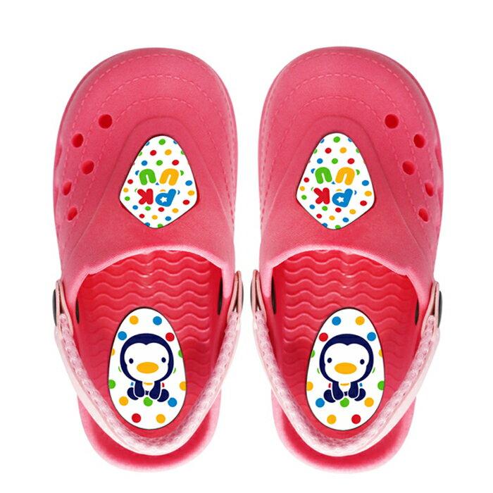 藍色企鵝 兒童園丁拖鞋~16 17 18 19 20號 二色