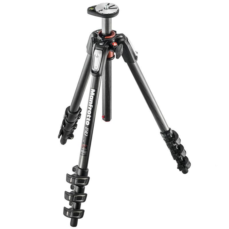 ◎相機專家◎ Manfrotto MK190CXPRO4-3W 碳纖三腳架套組 送腳架袋 正成公司貨