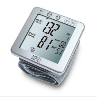 日本精密Nissei 手腕式血壓計WSK-1021J 贈送羅布麻茶+CAMRY電子體重計