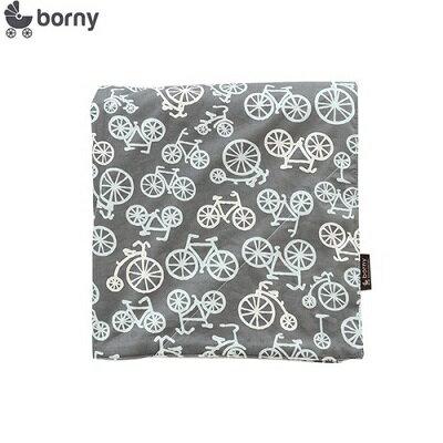 韓國【 Borny 】四季安撫毯(嬰兒毯) (腳踏車) - 限時優惠好康折扣