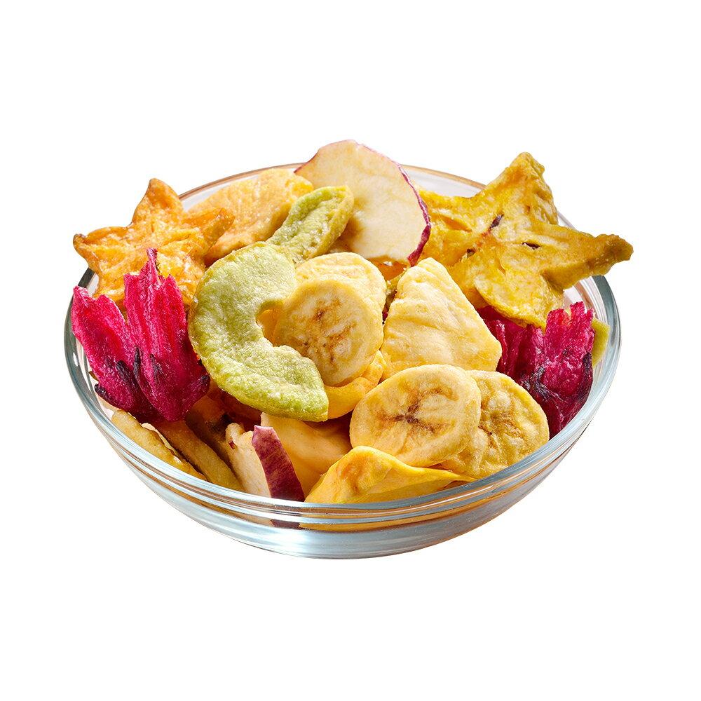 綜合水果脆片120公克【每日優果】 2