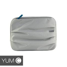 【美國Y.U.M.C. Haight城市系列Laptop sleeve13吋筆電包 銀灰色】電腦包/保護包/斜肩包 可容納13.3寸筆電/平板 【風雅小舖】 - 限時優惠好康折扣