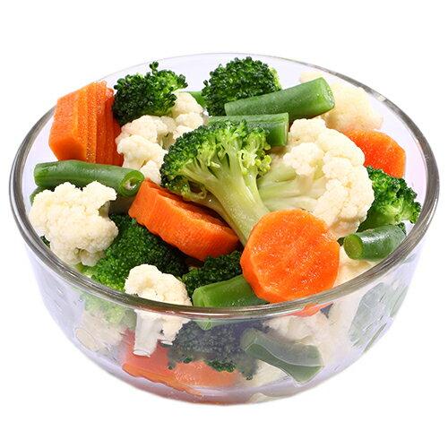 進口急凍有機認證蔬菜-綜合健康時蔬1公斤 1