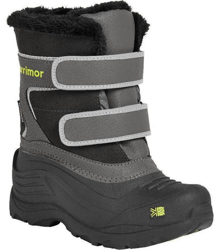 Karrimor 雪鞋/保暖雪靴/中筒防潑水雪鞋/出國/旅遊/滑雪 Snowfur Strap Kids 兒童款 K820-BSG