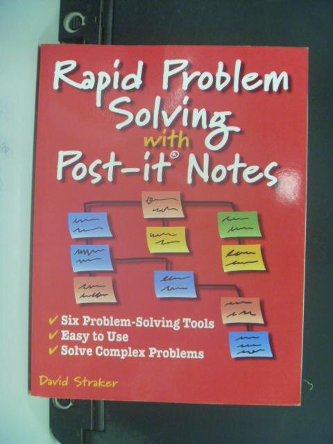 【書寶二手書T5/財經企管_LQB】Rapid Problem Solving with Post-It Notes