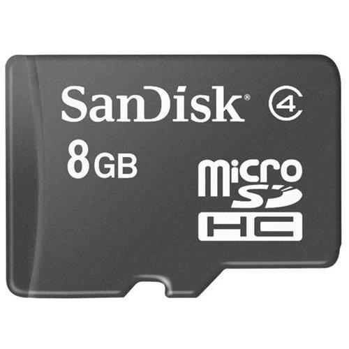 SanDisk 8GB microSDHC Class 4 8G microSD High Capacity micro SD SDHC C4 TF Flash Memory Card SDSDQ-008G Retail