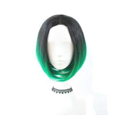 短假髮整頂假髮-中分鮑伯頭漸層挑染短直髮女假髮2色73rr30【獨家進口】【米蘭精品】