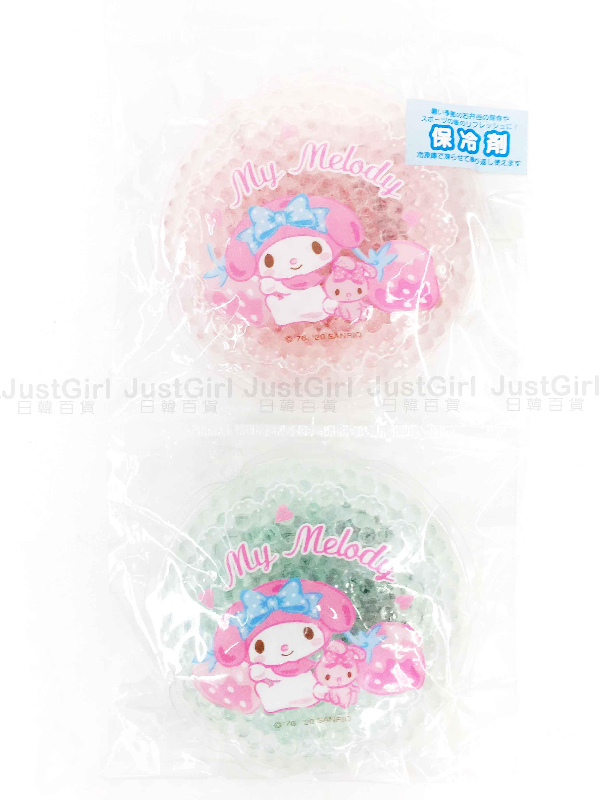 保冷劑 三麗鷗 KITTY 布丁狗 雙子星 大耳狗 酷洛米 美樂蒂 2入組 保冰劑 日本進口正版授權