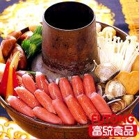 肉品火鍋料推薦到【富統食品】火鍋香腸1KG(約100粒)就在富統食品推薦肉品火鍋料