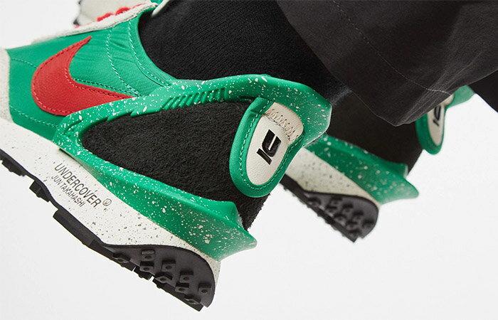 【日本海外代購】Undercover X NIKE Daybreak 聯名 海尼根綠 綠紅 潑漆 麂皮 男女鞋 CJ3295-300