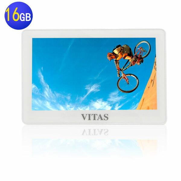 【送電池】VITAS X5000 5吋觸控式 MP5 16G~多媒體播放器/MP4隨身聽/MP3隨身聽