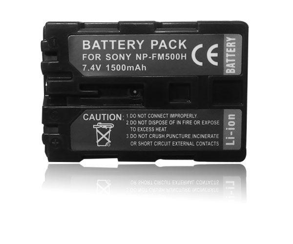 ~盈佳資訊~SONY NP~FM500H 高容量防爆鋰電池  有保障 α200 α300