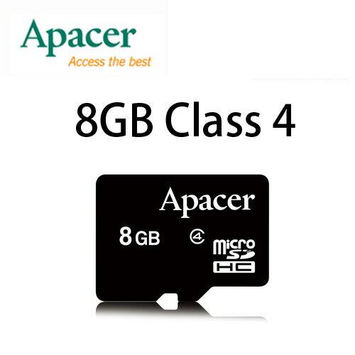 ~升級Class 4~APACER MicroSD 8G  TF  Micro SD  T