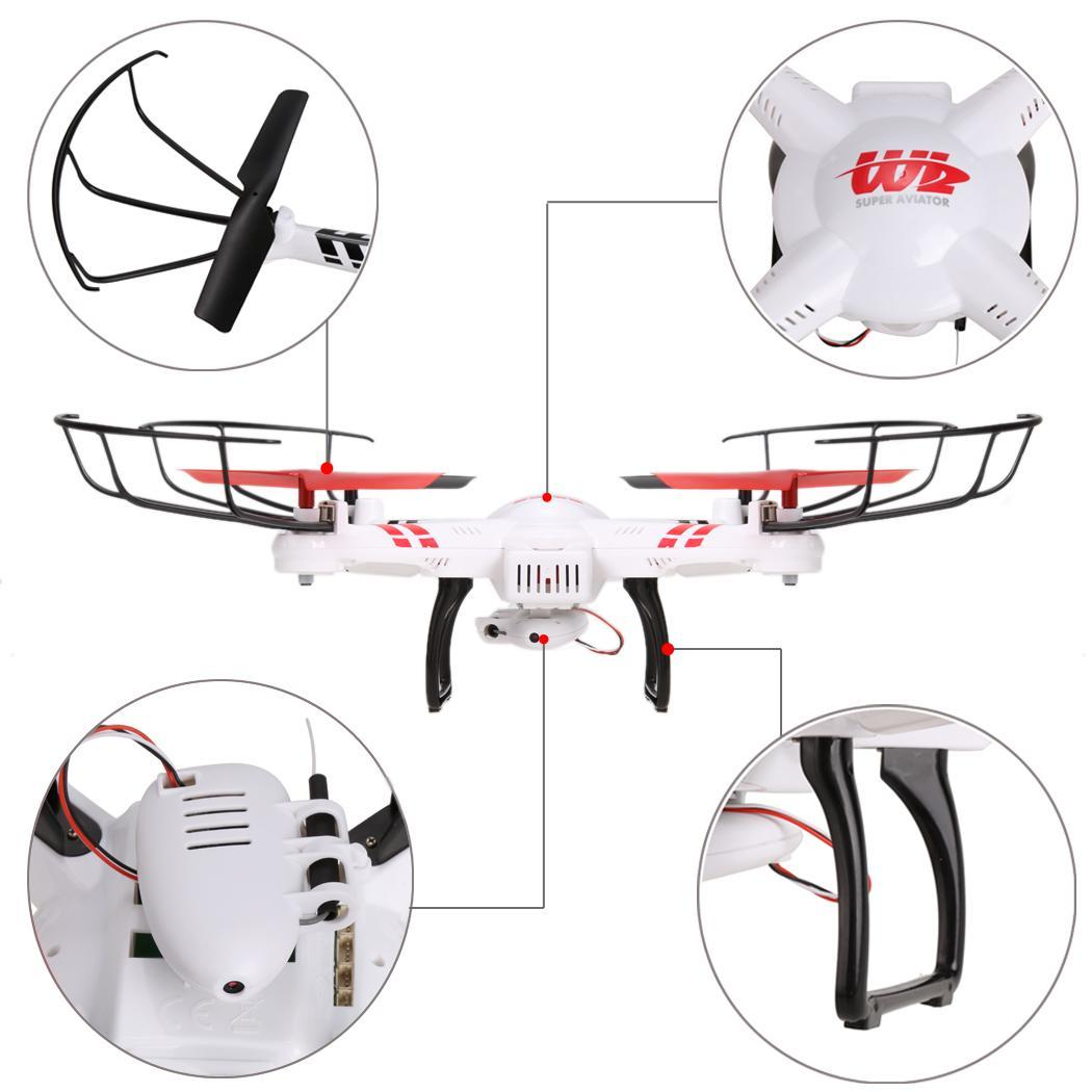 JJRC V686K Gyro 2.4G 4CH 6-Axis WIFI FPV RC Quadcopter with 0.3MP Camera 2