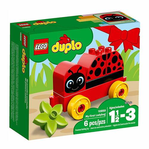 樂高積木 LEGO《 LT10859 》2018年 Duplo 得寶系列 - My First Ladybug