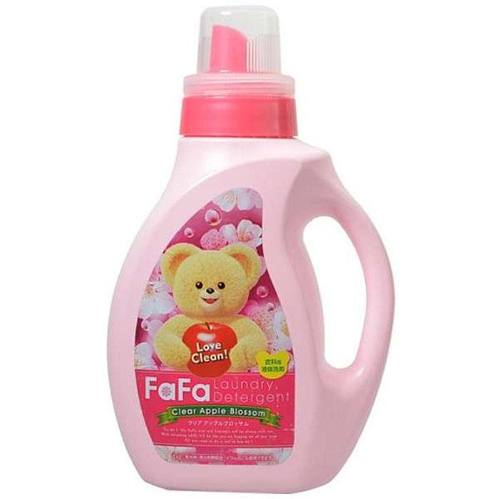 【NS FAFA】小熊洗衣精1.0kg(蘋果香氛)