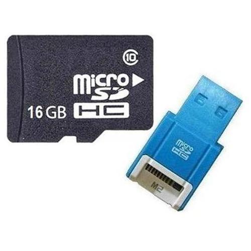 OEM 16GB 16G microSD microSDHC Class 10 micro SD SDHC C10 TF Flash Memory Card + SD Adapter and USB 2.0 Card Reader 0