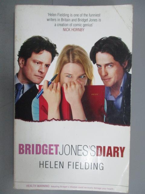 【書寶 書T1/原文小說_NSW】Bridget Jones s Diary_Helen Fielding