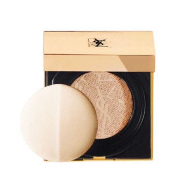 YSL 聖羅蘭 限量現貨 超模光氣墊粉餅 蕾絲氣墊粉餅《小乖小舖》