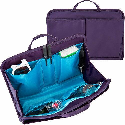 《TRAVELON》RFID包內安全收納包(紫L)