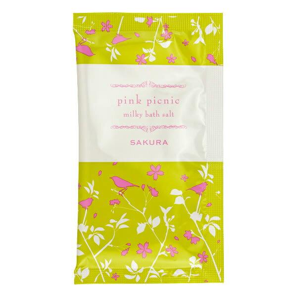 CHARLEY Pink Picnic櫻花牛奶入浴鹽 30g