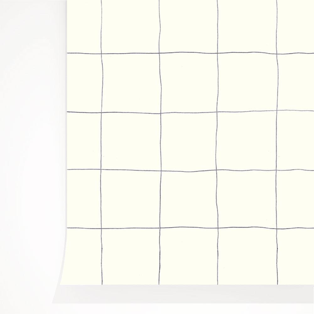 法國壁紙 格子紋圖案  3色可選  Season Paper x Heju合作壁紙 2
