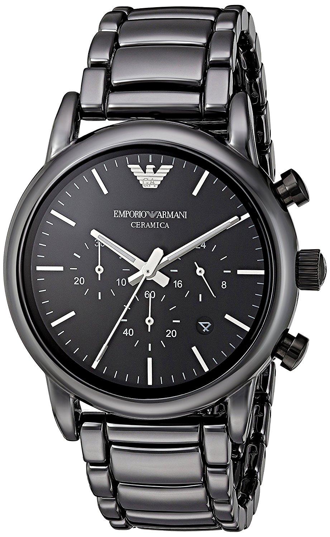 Emporio Armani 阿曼尼 Classic 愛戀心語計時對錶 AR1507 43mm