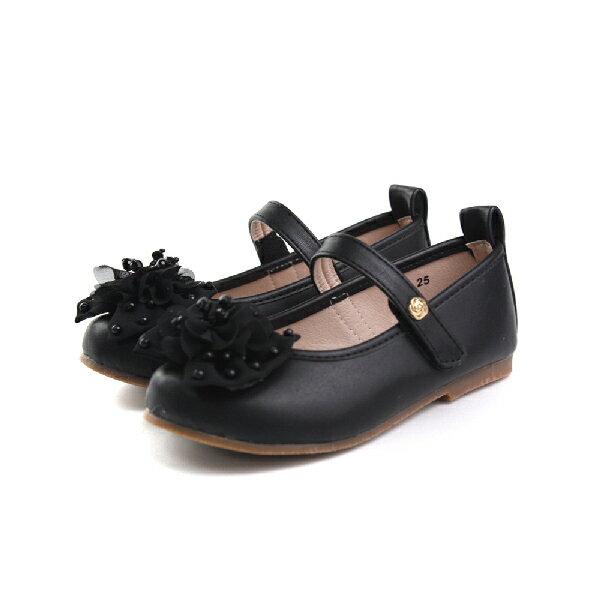 娃娃鞋 童鞋 黑色 童 no001
