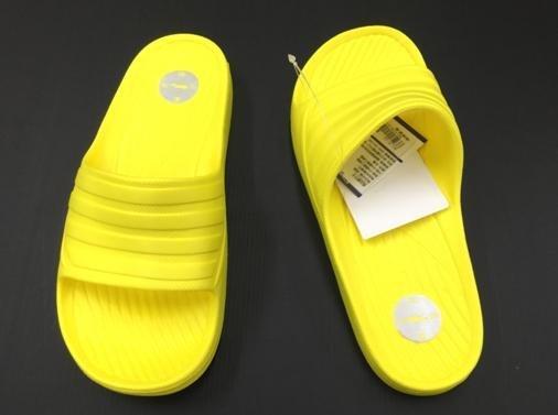 ※555鞋※黃色 母子鱷魚 馬卡龍色 浴室 海灘 防水 拖鞋 一體成形 氣墊 超舒適運動休閒拖鞋