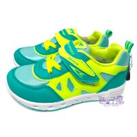 【巷子屋】KOYO 童款搭色運動休閒鞋 [55705] 綠 MIT台灣製造 超值價$198 0