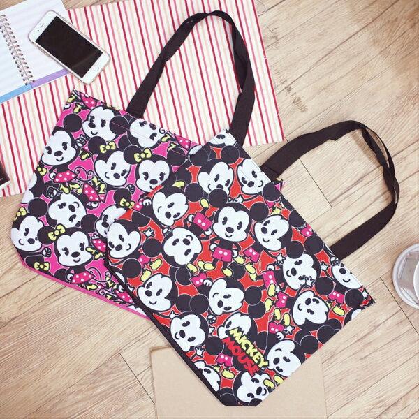 PGS7迪士尼系列商品-迪士尼米奇米妮滿版提袋才藝袋Mickey【SI2D71003】